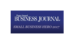Puget Sound Business Journal Small Business Hero 2017